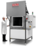 HRF 7/324 high temperature air recirculation oven with vertically opening door and AMS2750E compliance